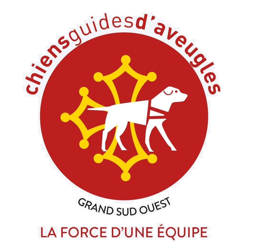 Logo Chiens Guides du Grand Sud Ouest